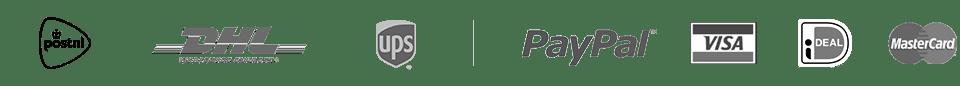 Betalingsmethoden logo's