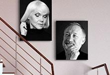 Foto's op canvas in trappenhuis_Foto op canvas aanbieding