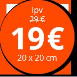 Label foto op aluminium prijs_17,50E
