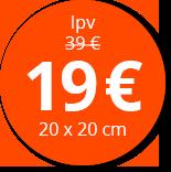 Label foto op plexiglas prijs_19E