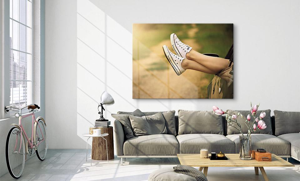 goedkope canvas woonruimte